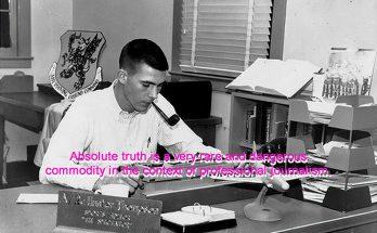 Hunter S Thompson Truth Quote