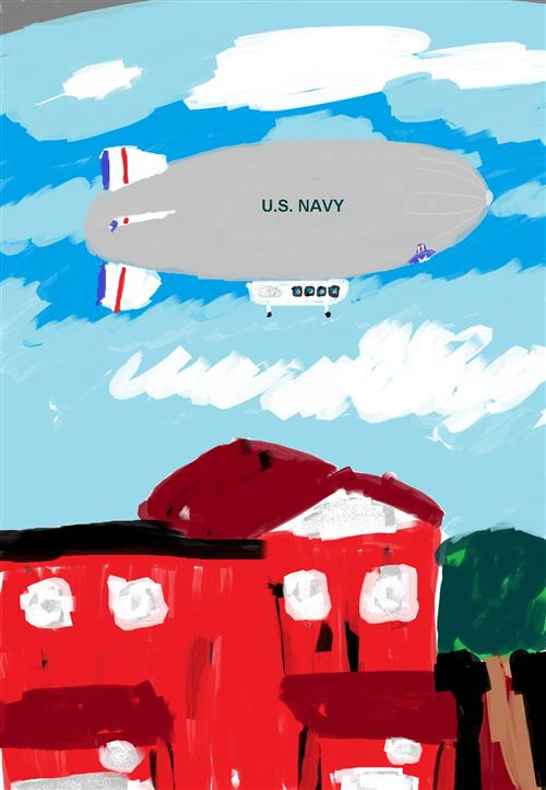 US Navy Mapping Blimp